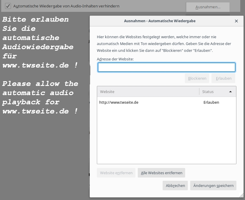 Audio Security for Firefox